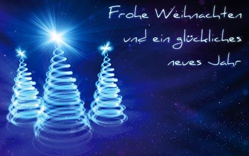Weihnachtskarten Shopnet Portfolio